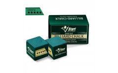 Мел Startbilliards 5 звезд зеленый (2шт. качества 8А)