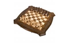 Шахматы + Нарды резные Лоза 50 Ohanyan