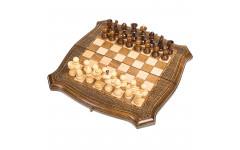 Шахматы + Нарды резные 30 Ohanyan