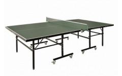 Теннисный стол LIJU, 15 мм, колеса 50 мм, зеленый DW9015