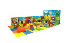Развивающая модульная комната 3 х 6 м