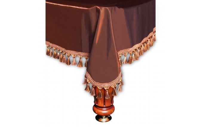 Покрывало Венеция 9фт шёлк коричневое