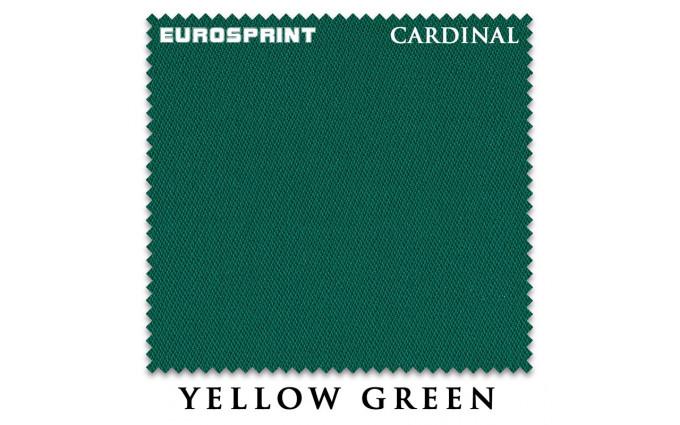 Сукно Eurosprint Cardinal 198см Yellow Green
