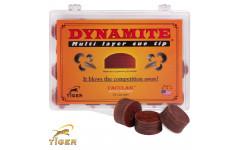 Наклейка для кия Tiger Dynamite ø13мм Hard 1шт.
