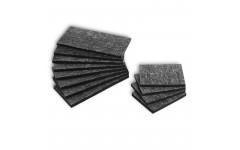 Пластины для бортов резина H5мм 12шт.