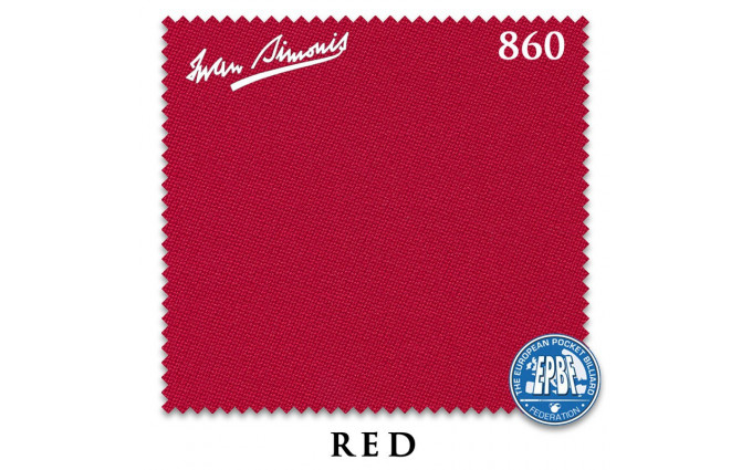Сукно Iwan Simonis 860 198см Red