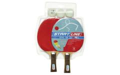 Набор теннисный ракетки Level 100 2шт, мячи Club Select 3шт