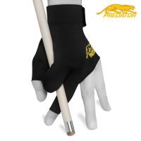 Перчатка Predator Second Skin черная/желтая левая XXS