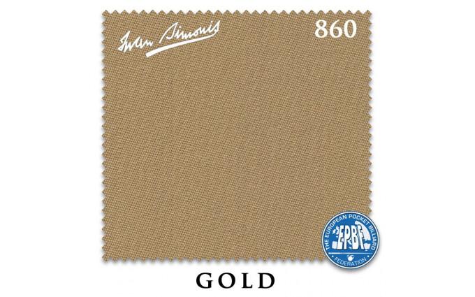 Сукно Iwan Simonis 860 198см Gold