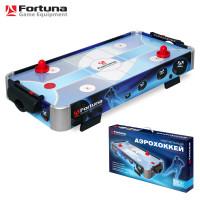 Аэрохоккей ★ Fortuna HR-31 Blue Ice Hybrid настольный 86х43х15см