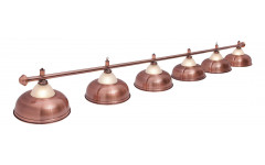 Светильник Fortuna Crown Red Bronze 6 плафонов