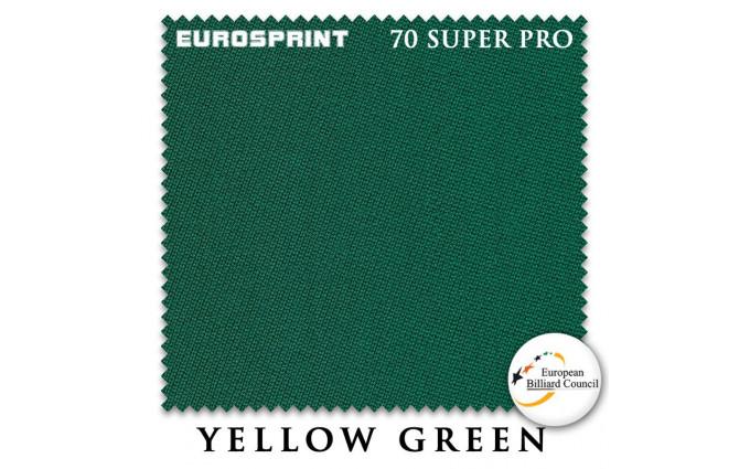 Сукно Eurosprint 70 Super Pro 198см Yellow Green