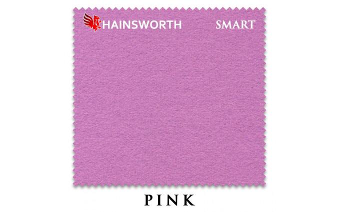 Сукно Hainsworth Smart Snooker 195см Pink