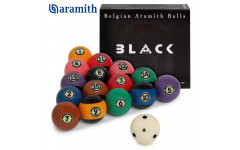 Шары Aramith Tournament Pool Black TV ø57,2мм