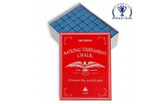 Мел National Tournament Chalk Blue 144шт.