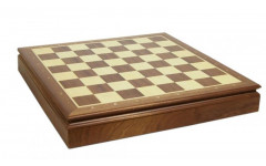 Шахматный ларец Woodgames Махагон, 45мм