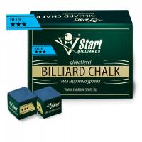 Мел Startbilliards 3 звезды синий (72шт)