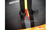 Батут GLOBAL SLF 6 футов с внутренней сеткой и лестницей