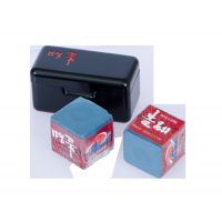 Мел «Ball teck PRO II» (2 шт, в черной металлической коробке) синий