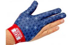 Перчатка для правой руки, синяя с рисунком, Renzo Longoni, Renzline