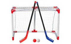 Комплект для игры в хоккей с мячом, флорбол