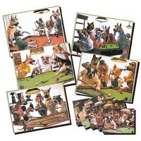 Зеркало-постер «Doggies» (5 шт)